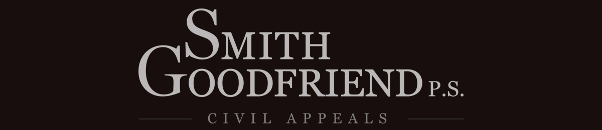 Smith Goodfriend, Civil Appeals, Seattle